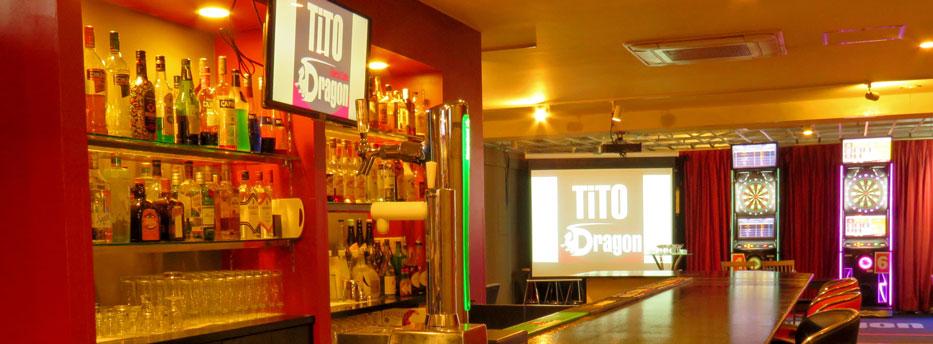Darts Cafe TiTO Dragon 店内写真