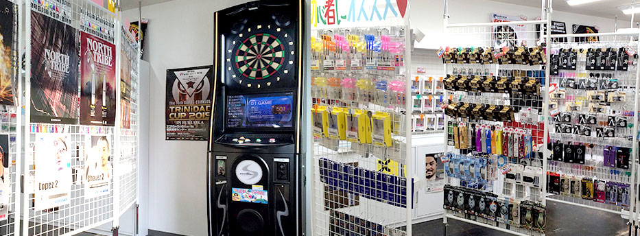 Darts Shop TiTO 札幌狸小路 店内写真